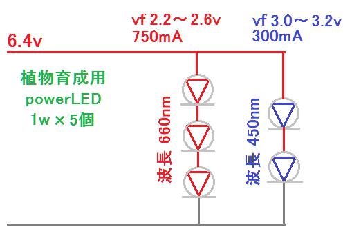 植物栽培用LED 簡単回路図.png