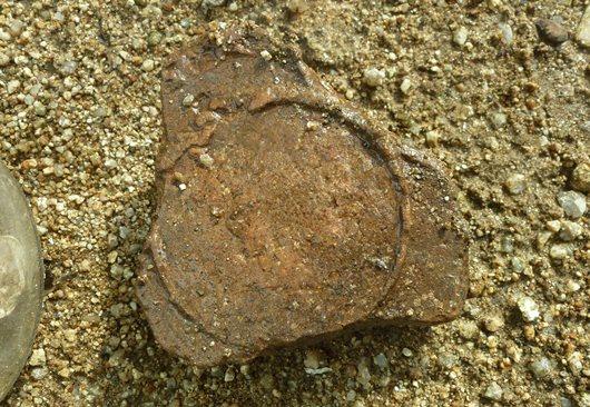 縄文土器に円形型.JPG